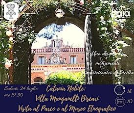 Catania Nobile: Villa Manganelli Biscari. Visita del Parco e del Museo Etno biglietti