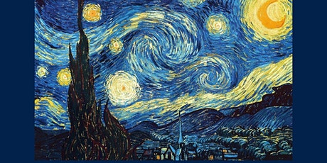 Online Masterclass: Let's paint a starry night. Van Gogh Painting Adventure tickets