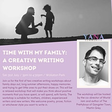 Time with my Family: A Creative Writing Workshop tickets