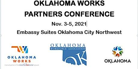 2021 Oklahoma Works Partners Conference VENDOR Registration tickets