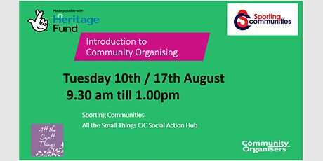 Introduction to Community Organising tickets