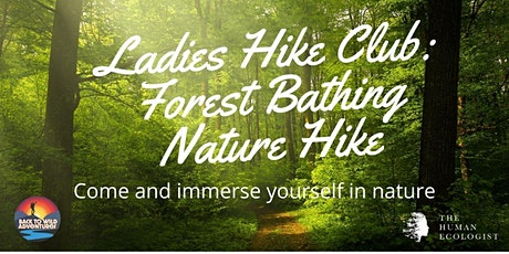 Ladies Hike Club: Back to Wild Adventures Forest Bathing Nature Hike tickets