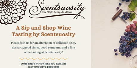 A Sip and Shop by Scentsuosity tickets