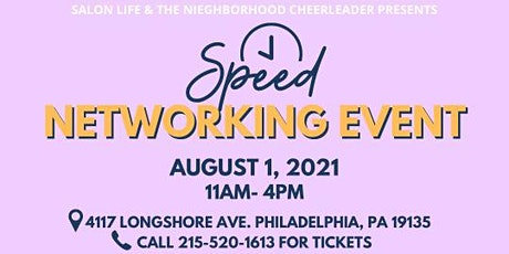 Speed Networking Event & Salon Life 7th Anniversary Event tickets