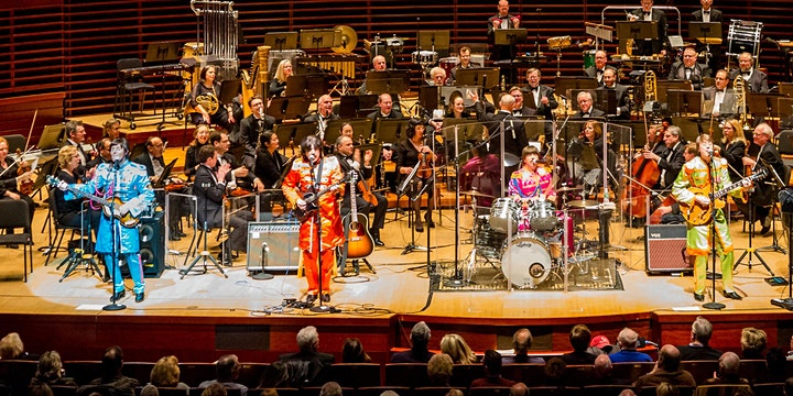 Beatles Classical Mystery Tour accompanied by the Carmel Symphony Orchestra image