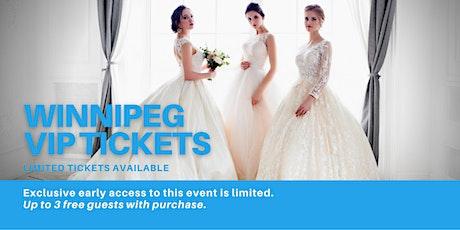 Winnipeg Pop Up Wedding Dress Sale VIP Early Access tickets
