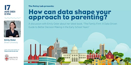 How can data shape your approach to parenting? tickets