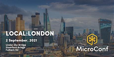 MicroConf Local: London tickets