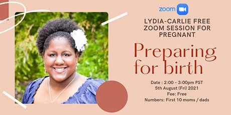 FREE Zoom Information Session for Pregnant Parents with Doula ✨ tickets