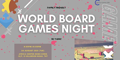 World Board Games Night tickets