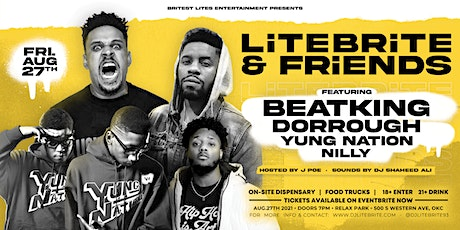 LiTEBRiTE and FRiENDS: featuring BEATKING, Dorrough, Yung Nation, and Nilly tickets
