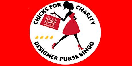 Chicks For Charity Designer Purse Bingo tickets