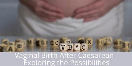 Vaginal Birth After Caesarean-Exploring the Possibilities Brisbane tickets