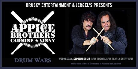POSTPONED - Drum Wars featuring Carmine and Vinny Appice tickets