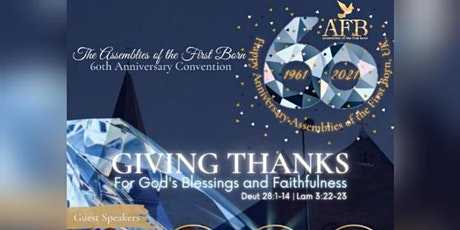 AFB Church UK 60th General Convention tickets