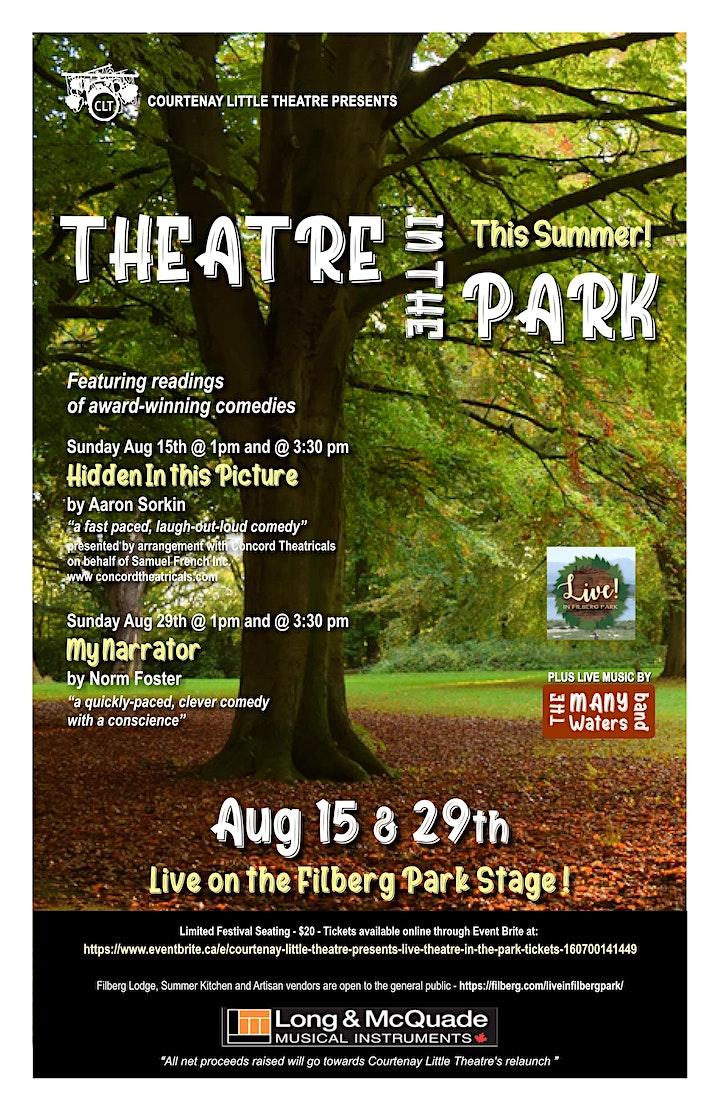 Courtenay Little Theatre presents: LIVE THEATRE in the PARK image