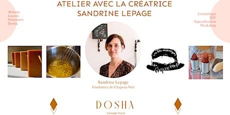 Atelier de Saponification & Beauté des Lèvres billets