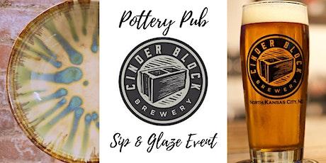 Pottery Pub | Cinder Block Brewery tickets