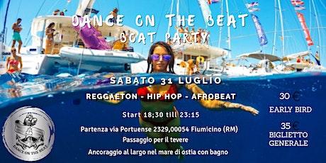 Dance on the Beat (boat party) biglietti