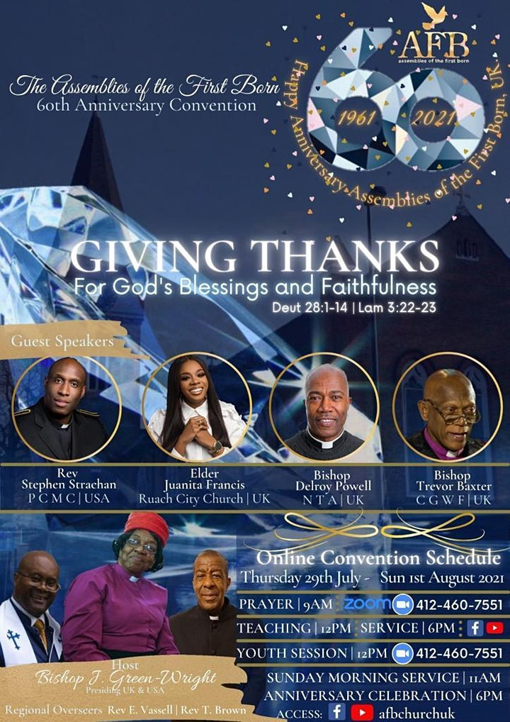 AFB Church UK 60th General Convention image
