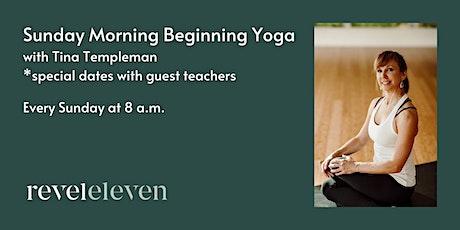 Sunday Morning Yoga (all levels) tickets