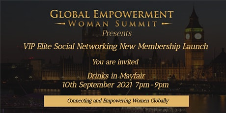 VIP ELITE SOCIAL NETWORKING LAUNCH tickets