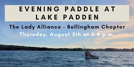 Bellingham WA - Evening Paddle at Lake Padden tickets