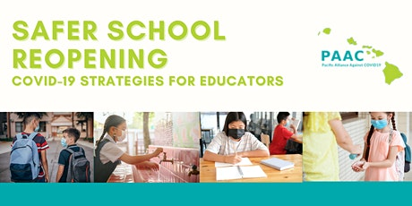 Safer School Reopening: COVID-19 Strategies for Educators tickets