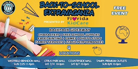 Florida Penguin Back to School Bash - Countryside Mall tickets