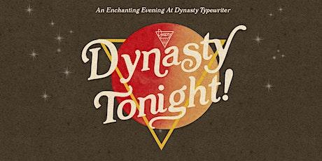 Dynasty Tonight! w/ Ayo Edebiri, Liza Treyger, Kimberly Clark + More! tickets
