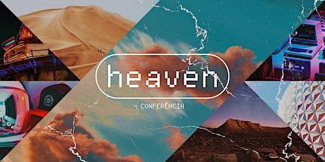 CONFERÊNCIA HEAVEN // 3X4 & TEENS ingressos