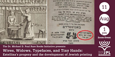 Estellina's progeny and the development of Jewish printing