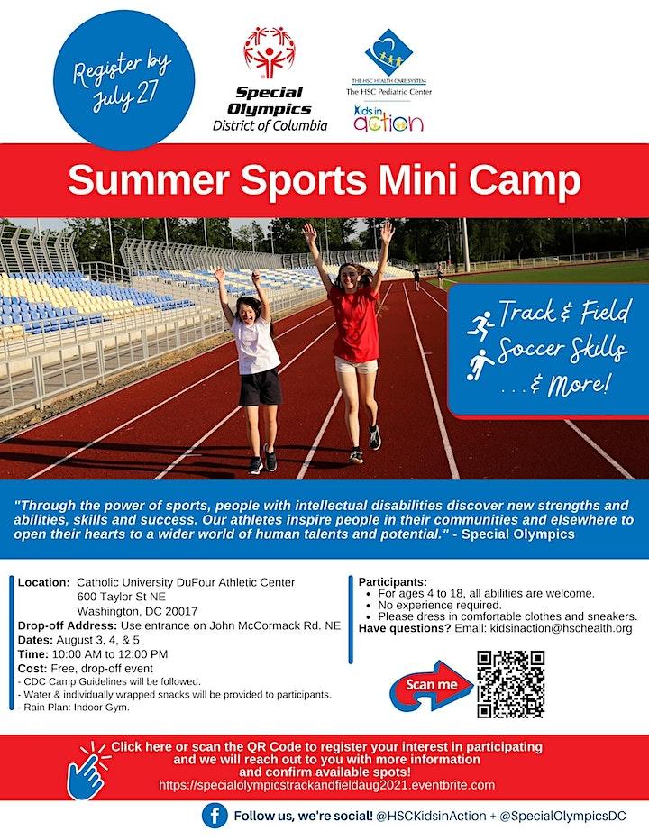Summer Sports  Mini Camp image