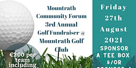 Mountrath Community Forum Golf Classic 2021 tickets