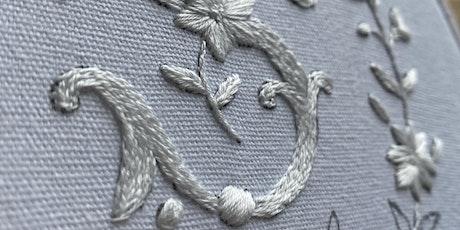 Embroidery Workshop: Floral Monogram tickets
