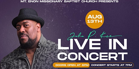 JOHN P. KEE & NEW LIFE LIVE IN CONCERT, DAYTON, OH tickets