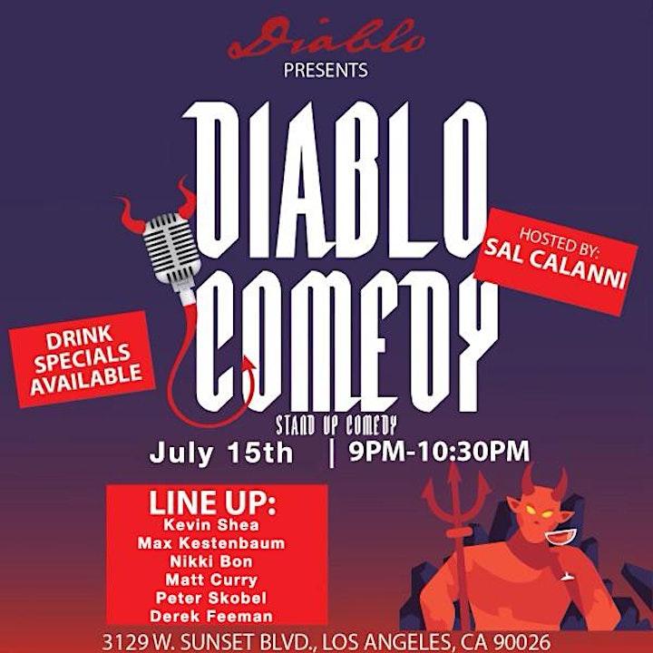 Diablo Comedy w/ Kevin Shea image