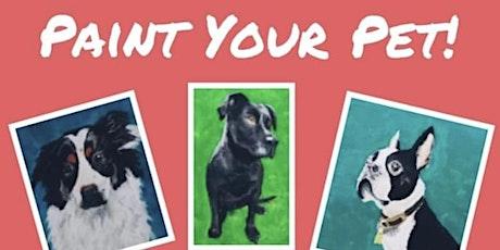 Paint your Pet tickets