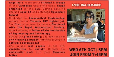 Inspiration Point  Series 4 Episode 2: Angelina Samaroo tickets