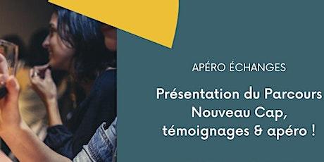 Apéro présentation Parcours Nouveau Cap & témoignages billets