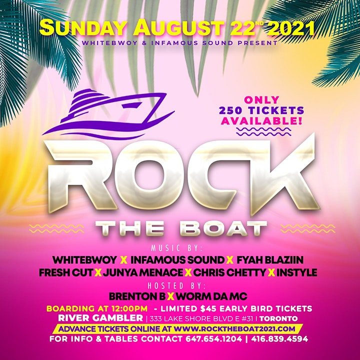 ROCK THE BOAT - BOAT CRUISE image