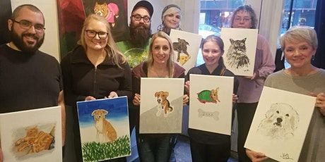 Fundraiser: Paint with Awesome Paws Rescue tickets