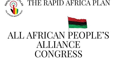 All African People's Alliance Congress tickets
