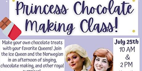 Princess Chocolate Making Class tickets