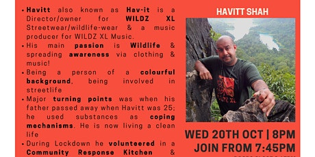 Inspiration Point  Series 4 Episode 3: Havitt Shah tickets