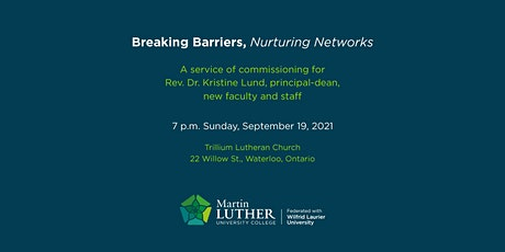 A service of commissioning for Rev. Dr. Kristine Lund, principal-dean tickets