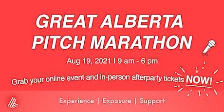 Great Alberta Pitch Marathon 2021 tickets