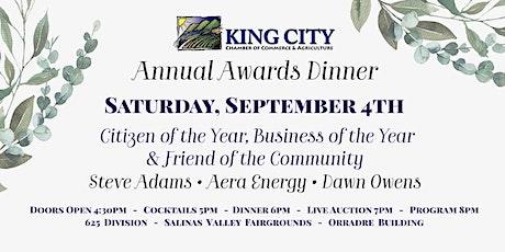 2020 Annual Awards Dinner tickets