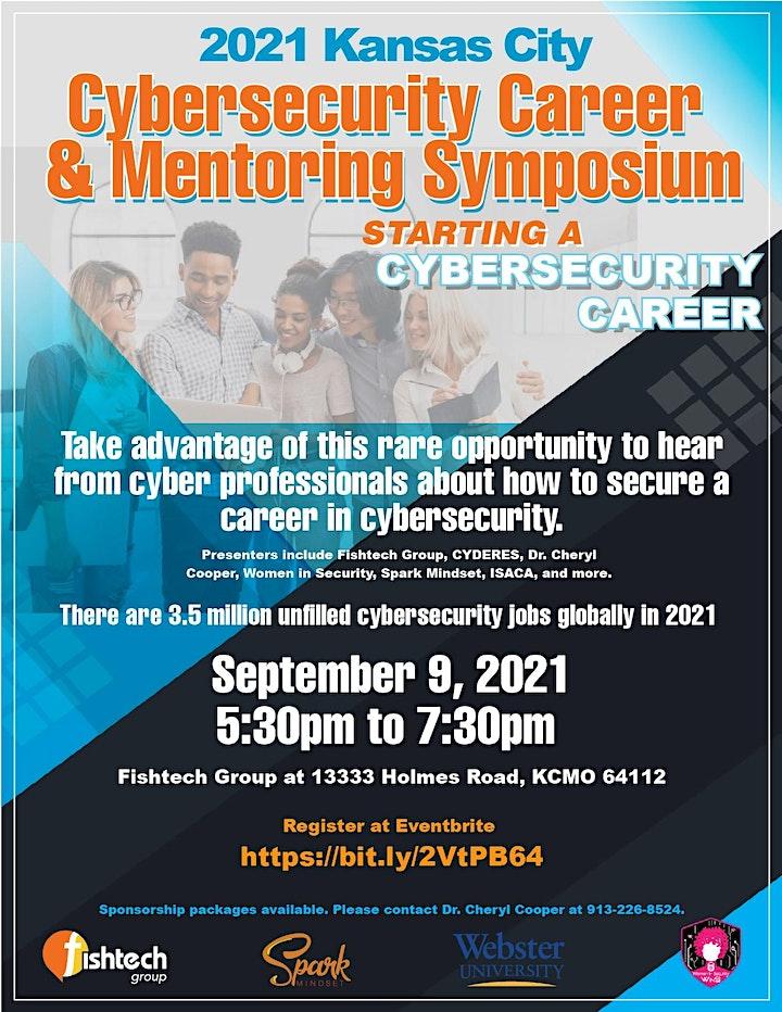 2021 Kansas City Cybersecurity Career & Mentoring Symposium image