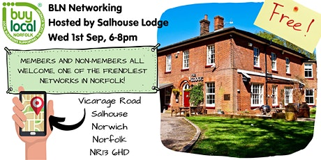 Buy Local Norfolk Networking -  1st Sep tickets